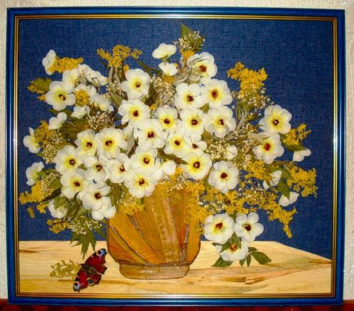 Картины цветов своими руками фото