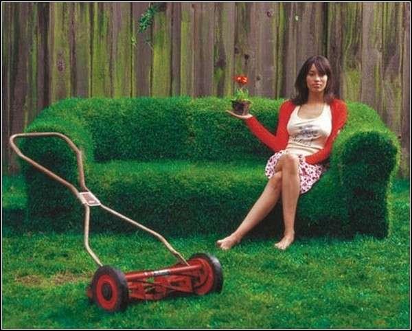 Как я сделал газон