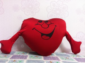 11 Подушка-сердце 2