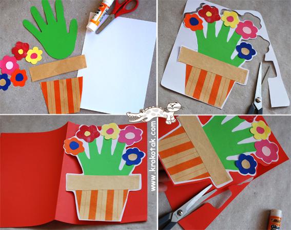 Подарок маме своими руками от детей