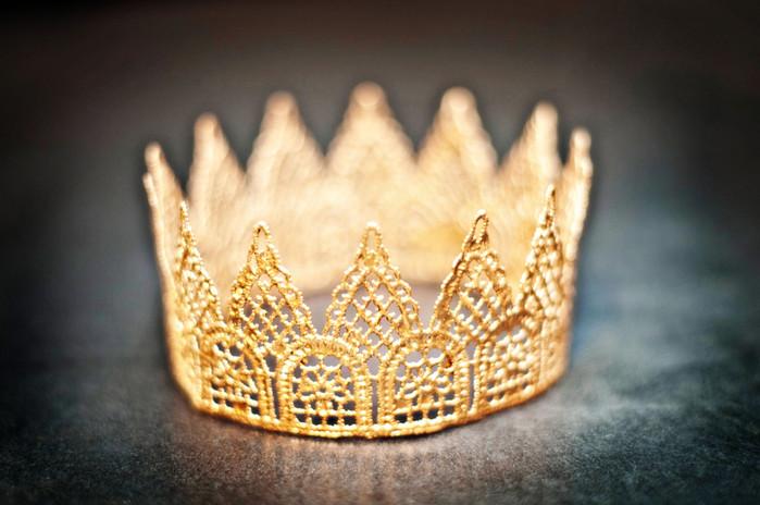 Корона для принца своими руками из картона