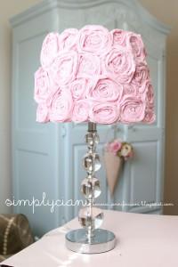 11 абажур из роз