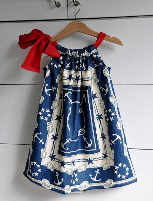 Детские платья своими руками быстро