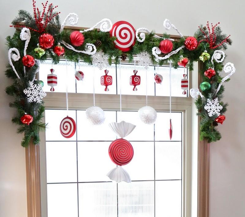 Fensterdeko-Weihnachten-Ideen-Girlande-basteln-Baumschmuck-Tannenzapfen
